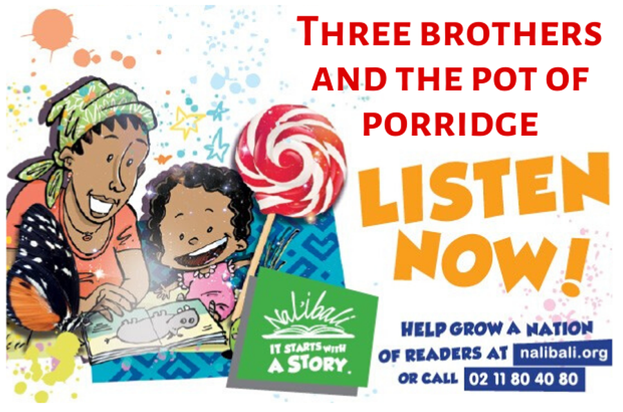 Three brothers and the pot of porridge