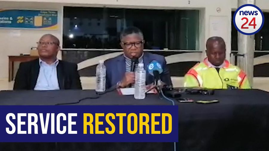 WATCH | Train services in Western Cape fully restored after Fikile Mbalula intervenes