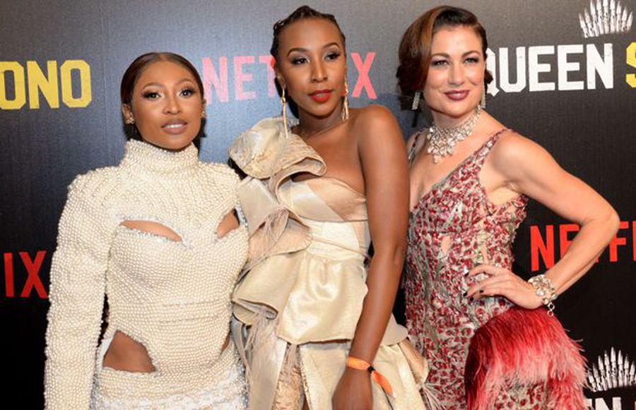 WATCH: The Cast of 'Queen Sono' walk the red carpet in Johannesburg ahead of show premiere