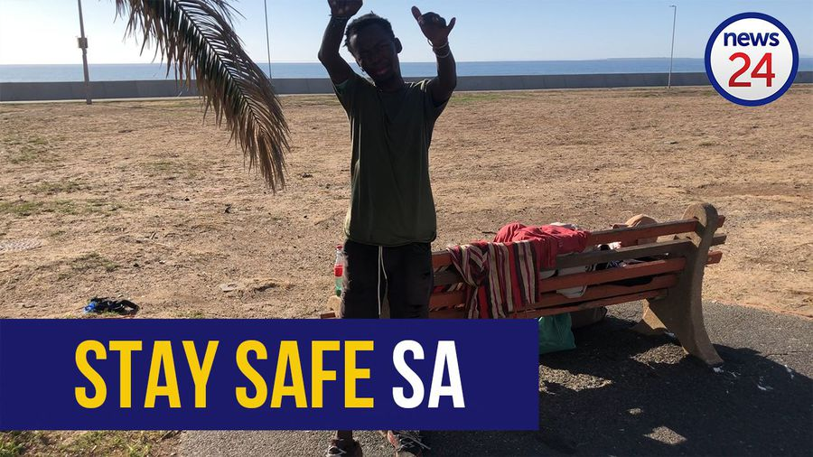 WATCH | 'Stay safe for 21 days, we'll all be alright, we're going to heaven'