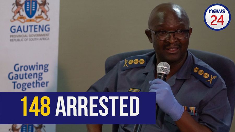 WATCH | 148 arrested in Gauteng for gatherings, liquor trading and refusing to stay home