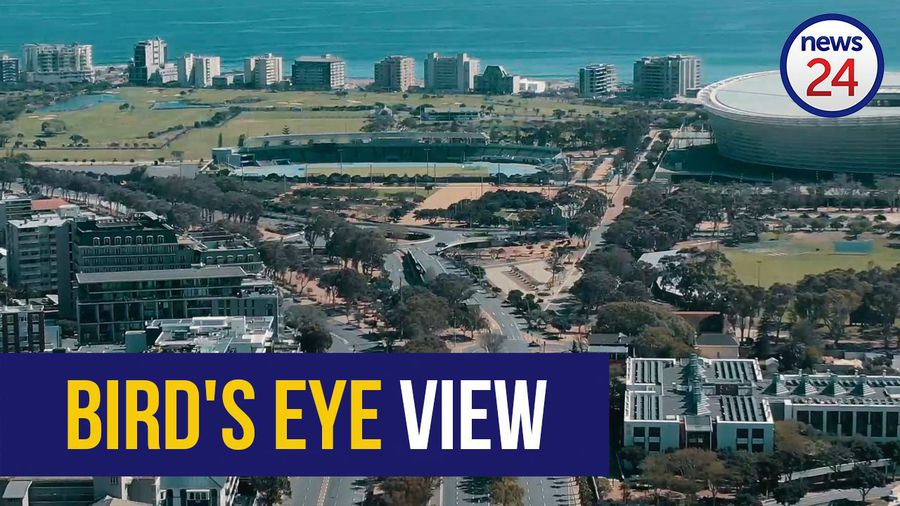 WATCH | Breath-taking bird's eye view footage shows empty Sea Point and Cape Town CBD