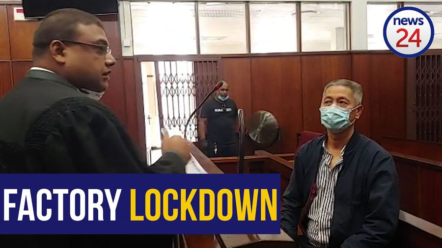 WATCH | Man who allegedly forced workers to manufacture illegal masks granted R20 000 bail