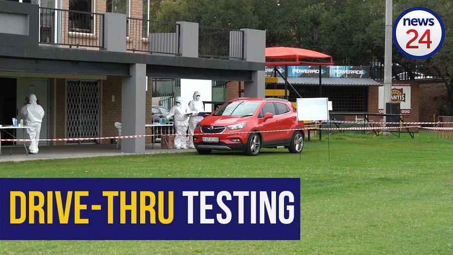 WATCH | How Covid-19 drive-thru testing station is helping to 'flatten the curve'