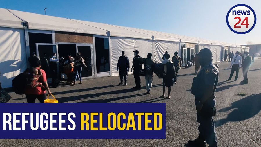 WATCH   Refugees moved from Methodist church, relocated to marquee