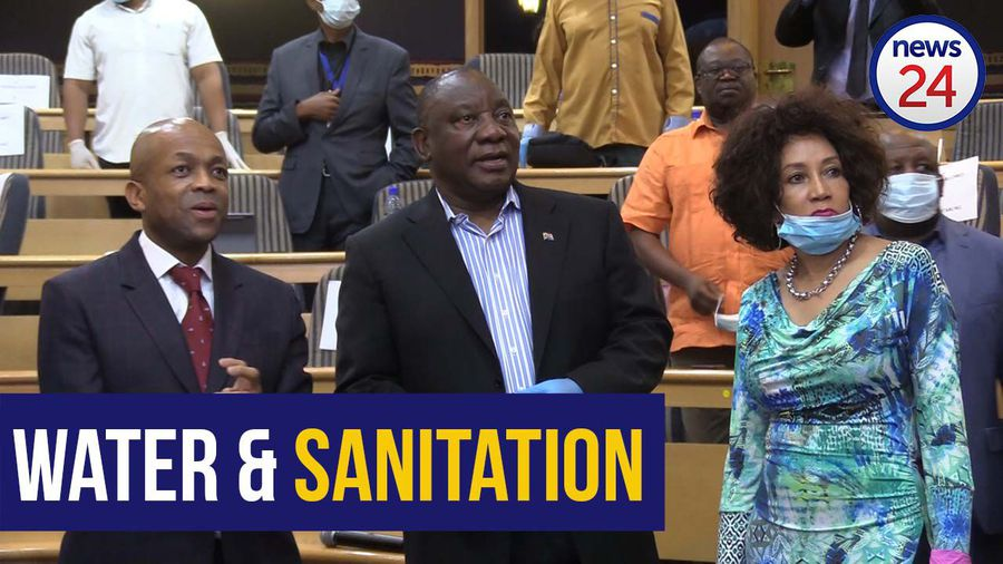 WATCH   FULL SPEECH: Cyril Ramaphosa visits the National Water Command Centre in Johannesburg