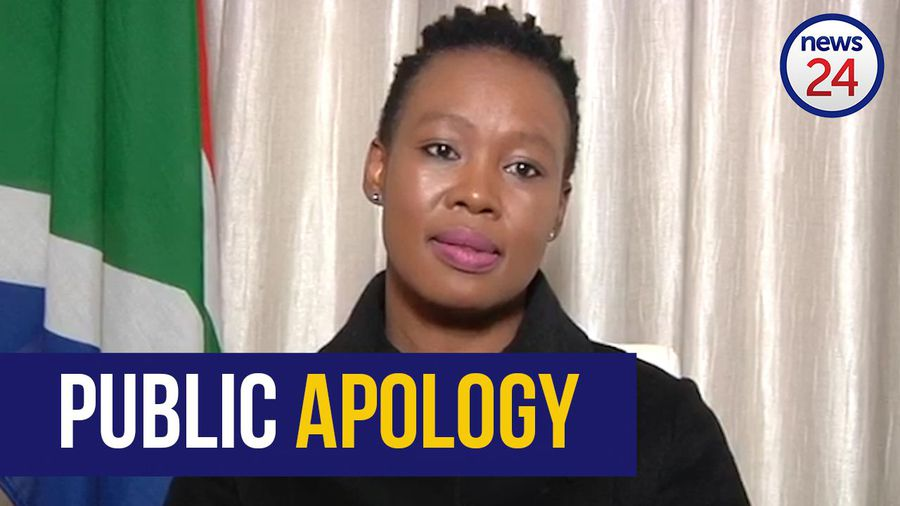 WATCH | 'I hope you'll find it in your hearts to fogive me', says Ndabeni-Abrahams in public apology