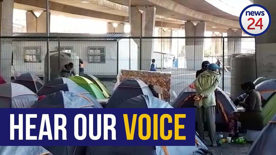 WATCH | 'Stop ignoring us' - Cape Town's homeless community pleads with City to hear their demands