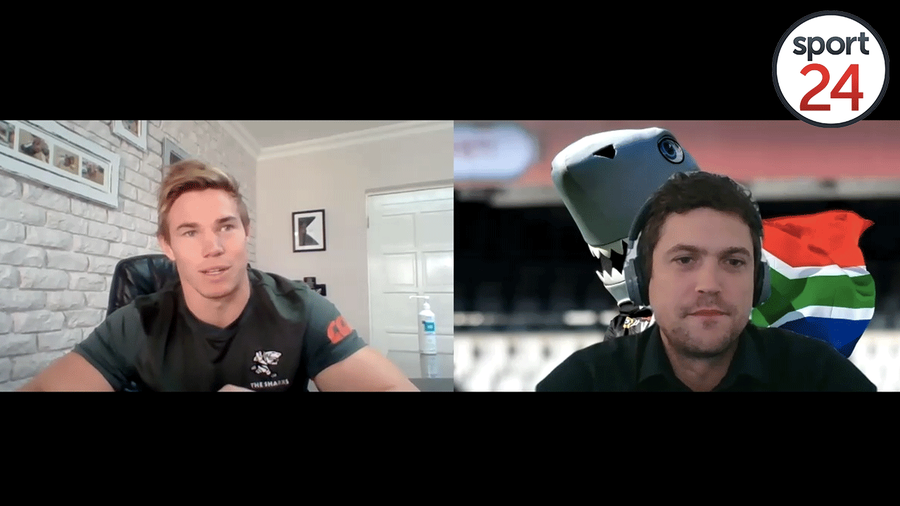 WATCH | Sharks flank James Venter sits down with Sport24