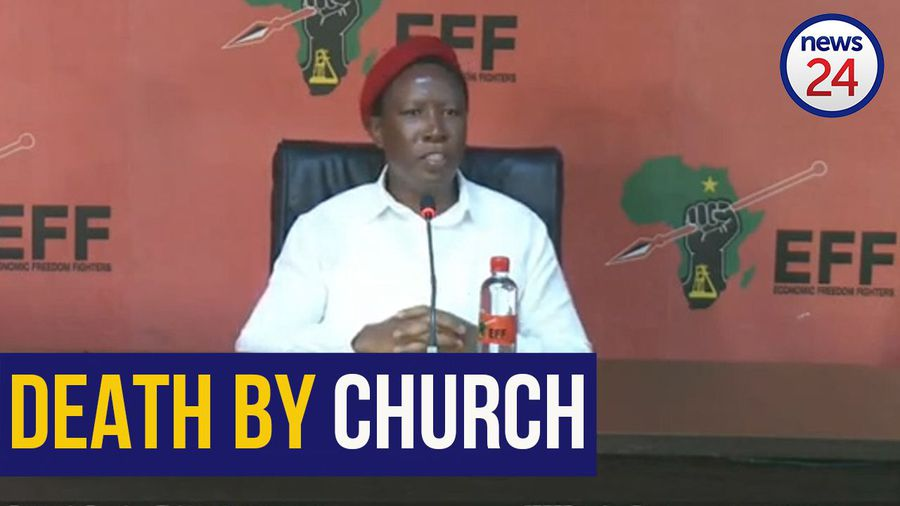 WATCH   Malema pleads with worshippers: 'Do not go to church, you will die'