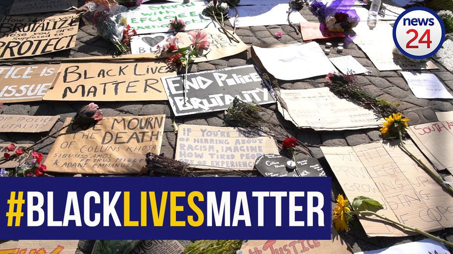 WATCH | Capetonians stage vigil outside parliament in solidarity with the #BlackLivesMatter movement