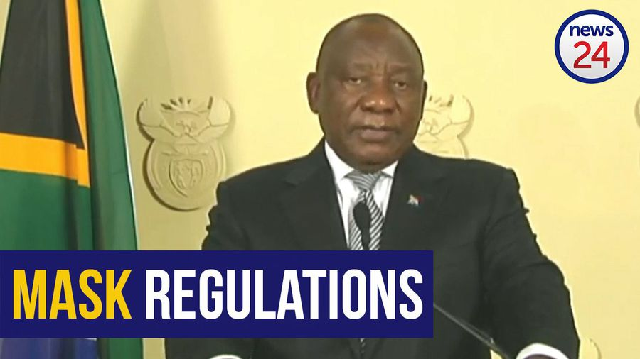 WATCH   Regulations on the wearing of masks will be strengthened - Ramaphosa