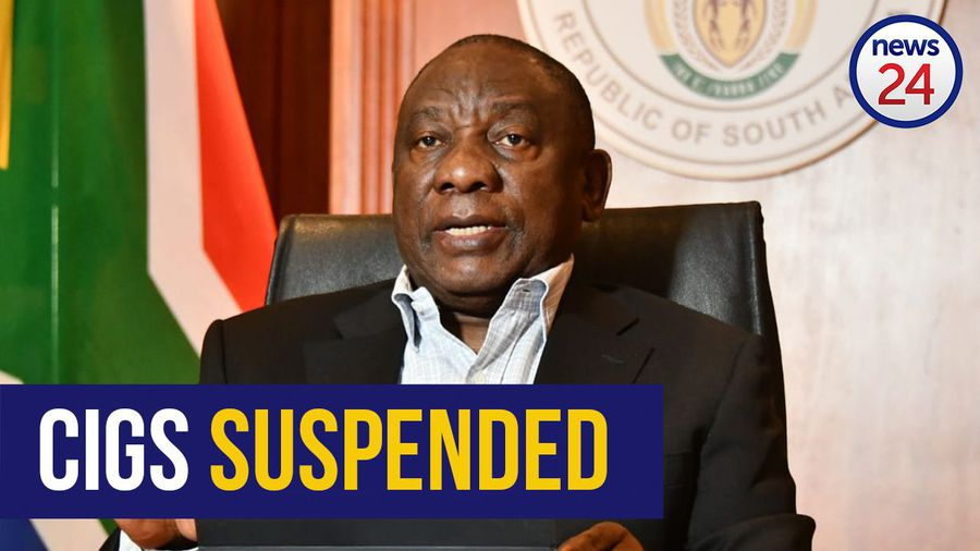 WATCH | Cigarettes not banned but suspended says Ramaphosa in virtual imbizo