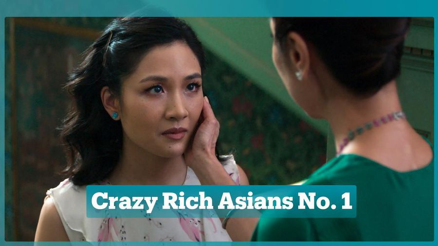 Crazy Rich Asians tops box office