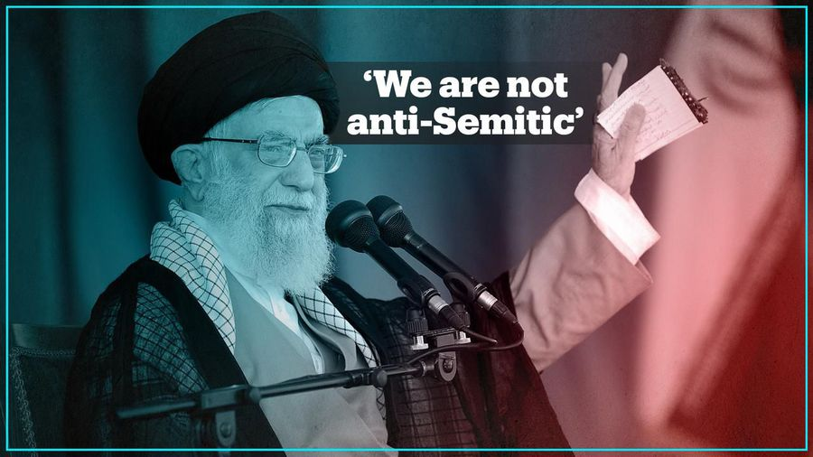 Ayatollah Khamenei says Iran is not anti-Semitic