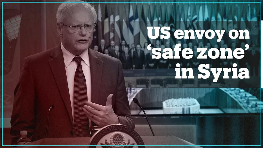 US envoy for Syria acknowledges Kurds fleeing from YPG/PYD terrorists