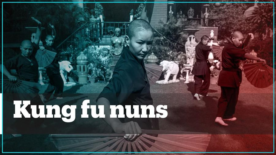 These kung fu nuns are breaking the norms