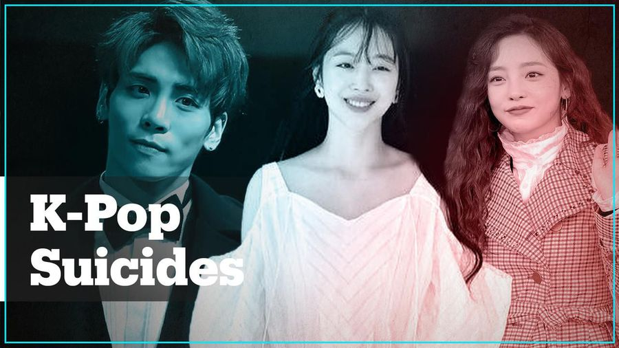 Why are K-pop stars committing suicide?