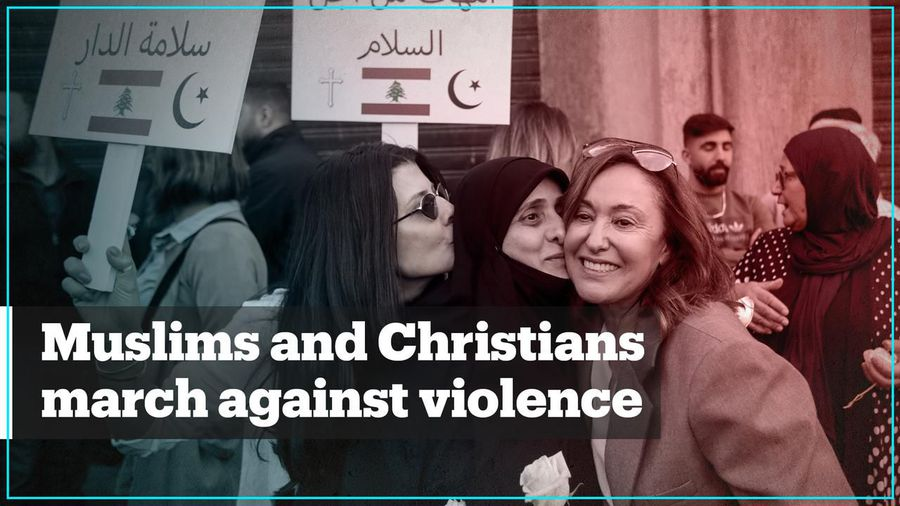 Lebanese Christian and Muslim women unite against violence