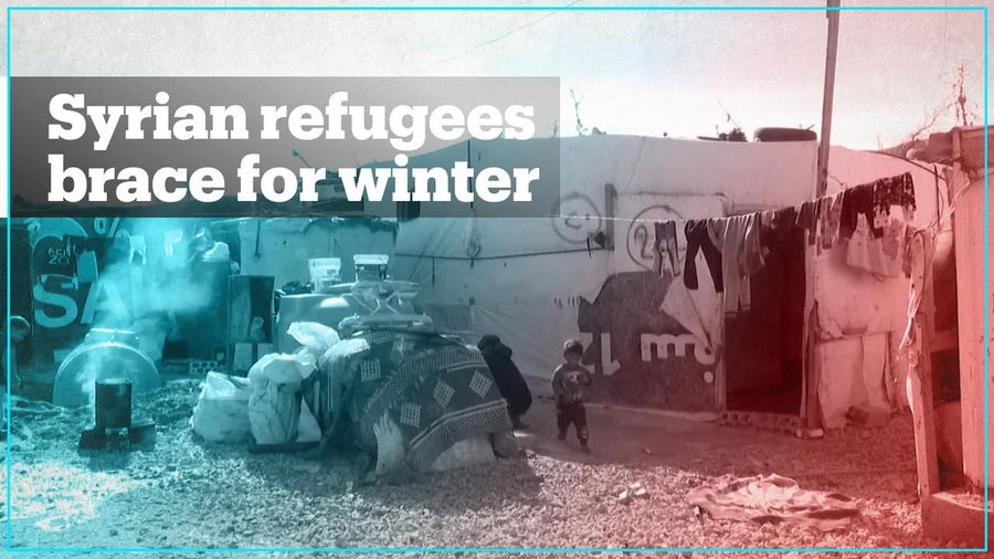 Syrian refugees in Lebanon face challenges for harsh winter ahead