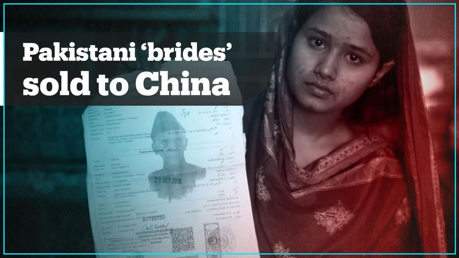 Pakistani women trafficked to China in 'bride market'