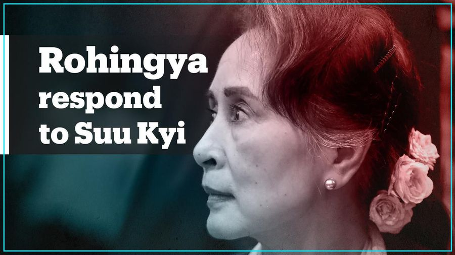 Lies': Rohingya respond to Aung San Suu Kyi defence in 'genocide' trial