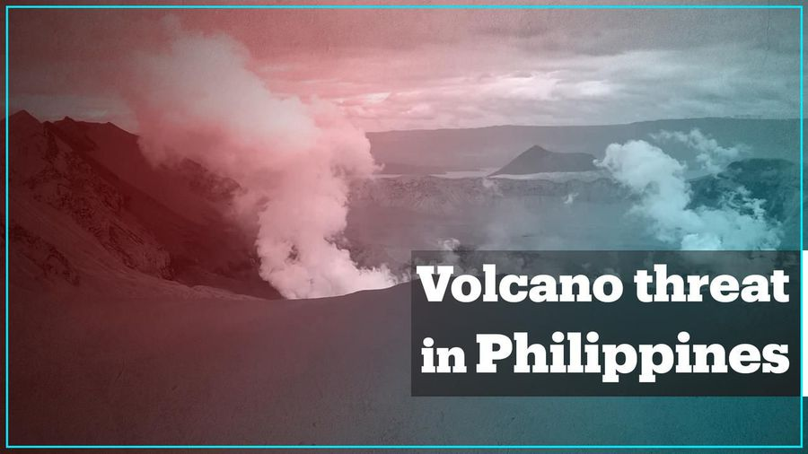 Taal volcano eruption sends thousands to emergency shelters in the Philippines