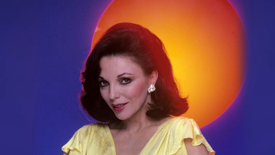 The Changing Face Of Joan Collins