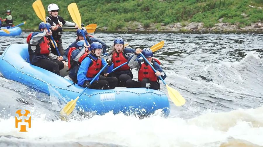 Rafting The Exploits River