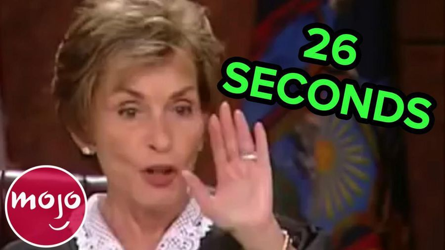 Top 10 Quickest Cases on Judge Judy