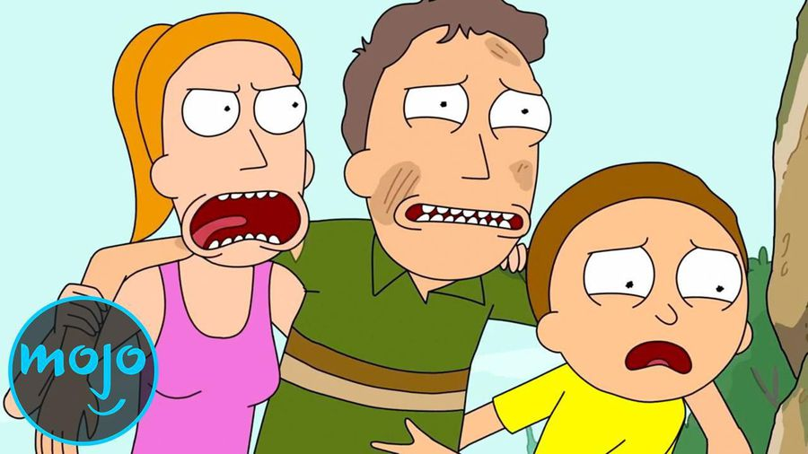 Top 10 Times Jerry Was the Worst (Rick and Morty)