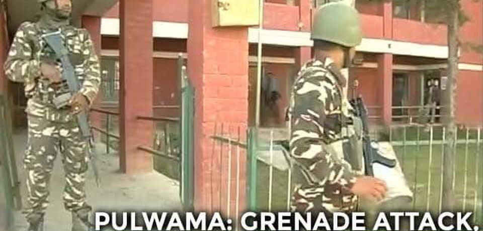 Grenade Attack On Poll Booth In Kashmir