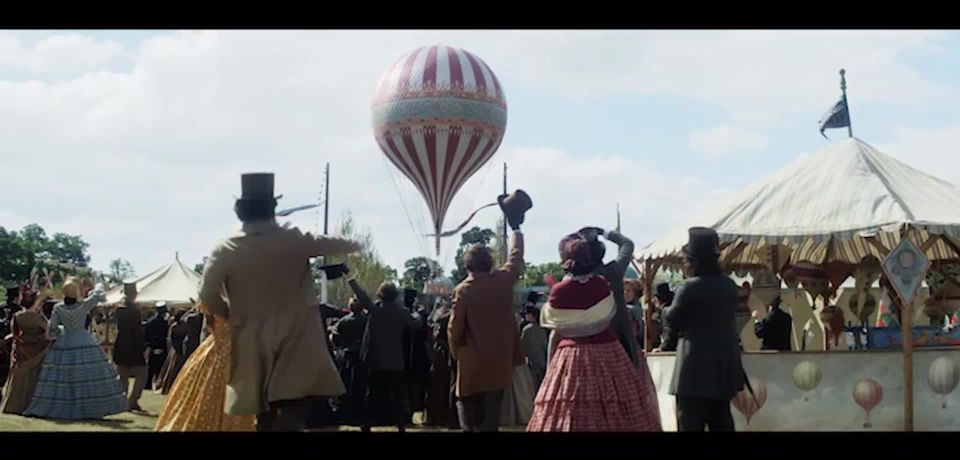 The Aeronauts: Redmayne and Jones take flight in new film