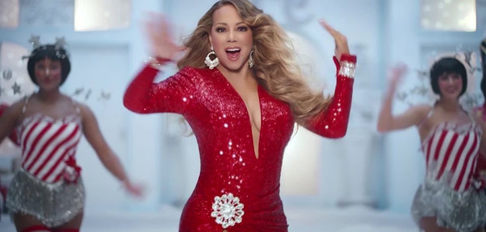 Mariah Carey stars in new Walkers Christmas advert