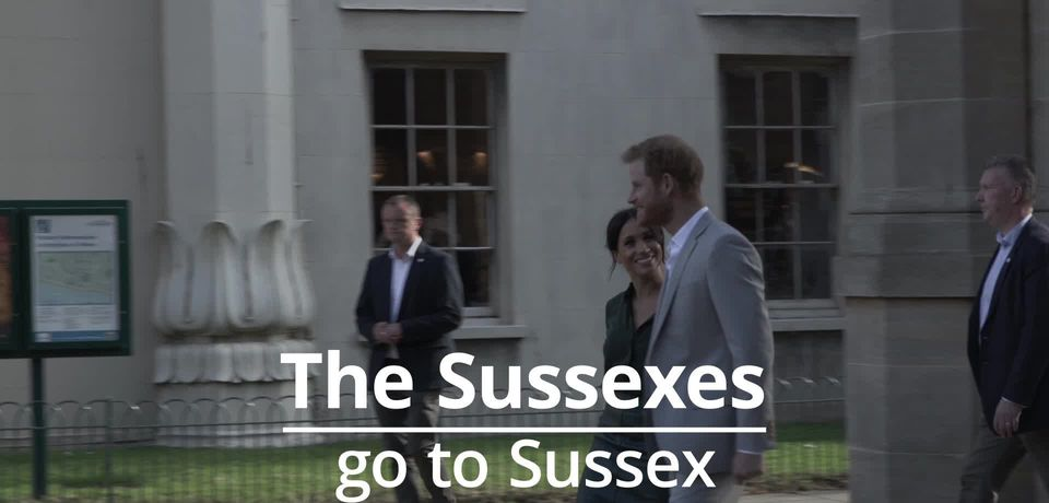 Duke and Duchess of Sussex visit Sussex