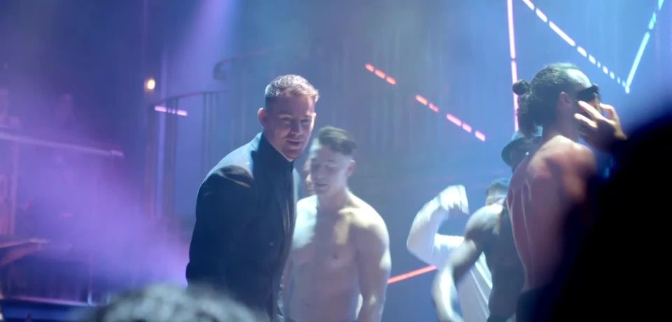 Channing Tatum twerks at opening night of Magic Mike Live in London