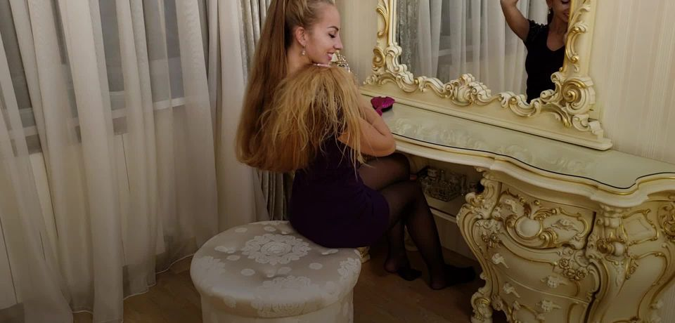 Meet the real-life Rapunzel who has not had a haircut in 28 years
