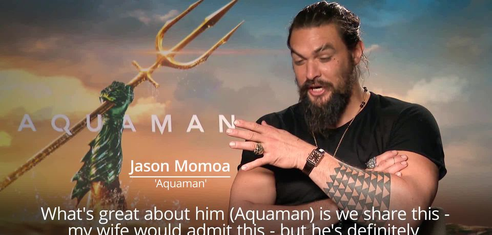 Jason Momoa: It's cool to play first Aquaman