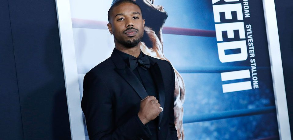 Michael B Jordan walks the red carpet at Creed 2 screening in South Africa