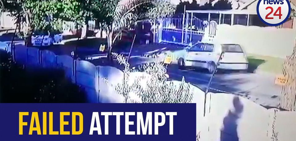 WATCH: Quick-thinking motorist leaves hijackers empty-handed