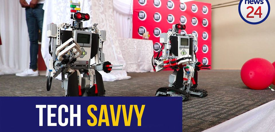 WATCH: Pupils prepare for the digital age by building their own robots
