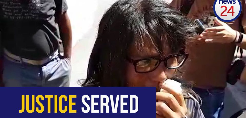 WATCH: Courtney Pieters' killer gets two life sentences for her rape, murder