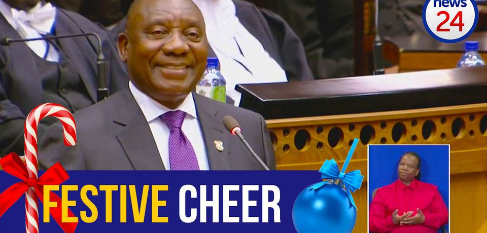 WATCH: A News24 2018 Festive Season special - politicians 'sing' All I Want For Christmas Is You