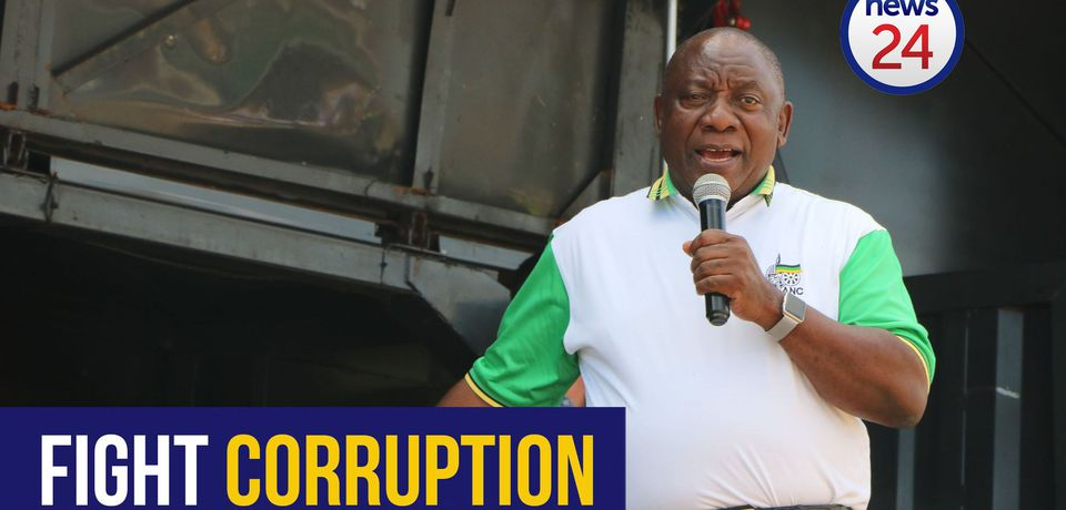 WATCH: Ramaphosa calls on private sector to assist with the fight against corruption