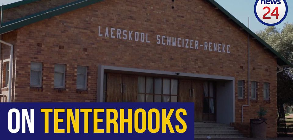 WATCH: Schweizer-Reneke calm, but on tenterhooks after segregation of black, white pupils