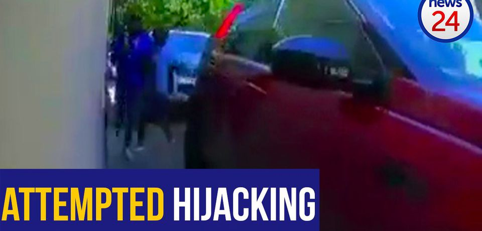 WATCH: Morningside driver outsmarts would-be hijackers