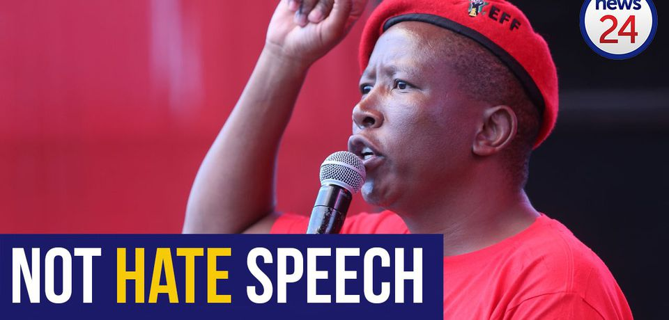 WATCH: SAHRC says Malema comments may be deemed 'offensive' but don't constitute hate speech