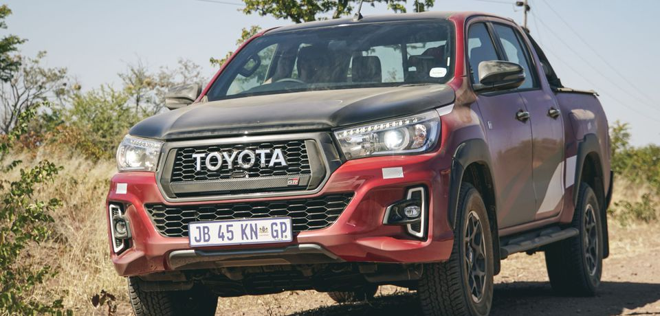 Toyota Hilux Legend 50 and GR Sport launch