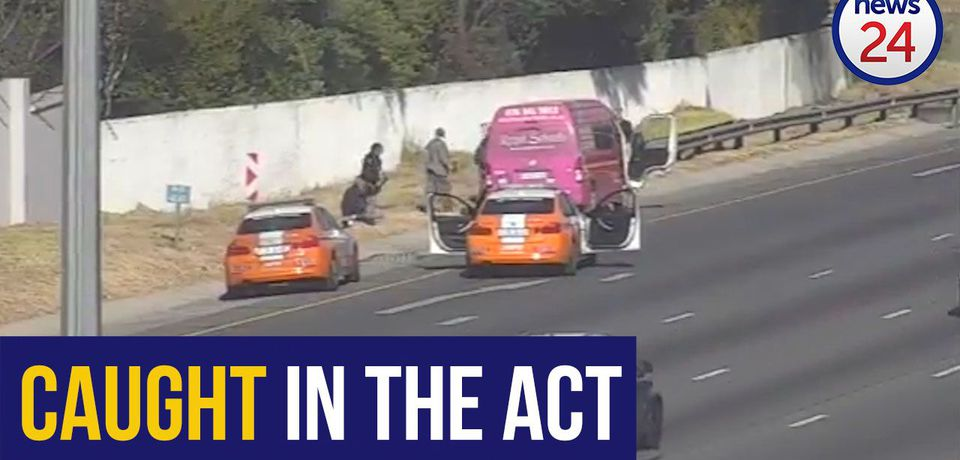 WATCH: Sanral to the rescue after delivery vehicle hijacked
