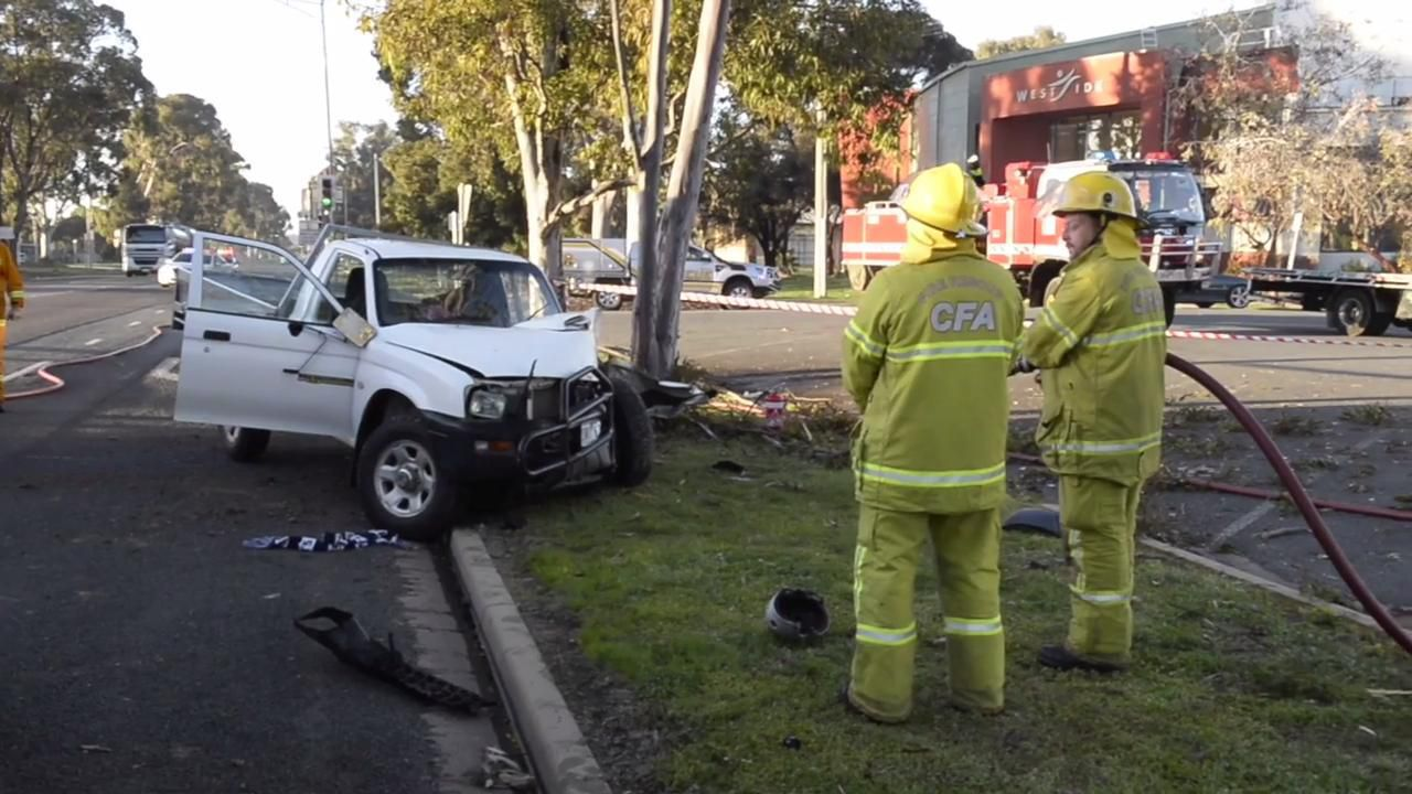 Echuca Rd Mooroopna crash